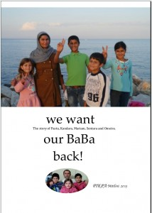we want our BaBa back Cover